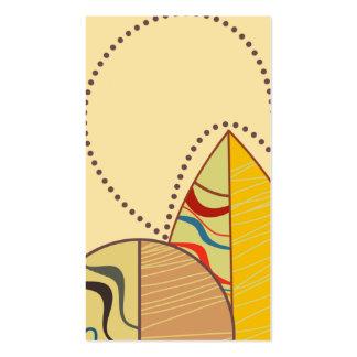 tarjeta de visita moderna para la familia del pati