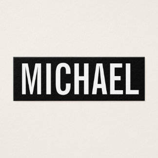 Tarjeta de visita moderna profesional minimalista