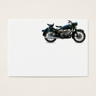 Tarjeta De Visita Motocicleta