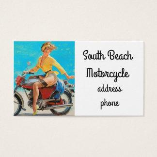 Tarjeta De Visita Motocicleta modela