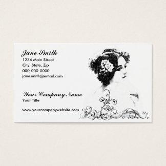 Tarjeta De Visita Mujer del Victorian