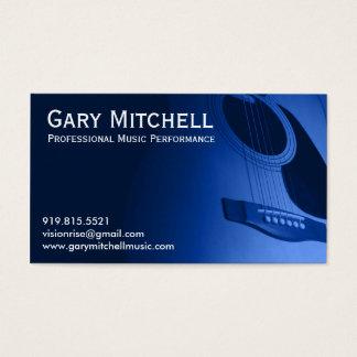 Tarjeta De Visita Música de Gary Mitchell