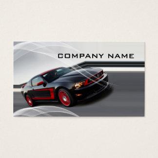 Tarjeta De Visita Negocio automotriz