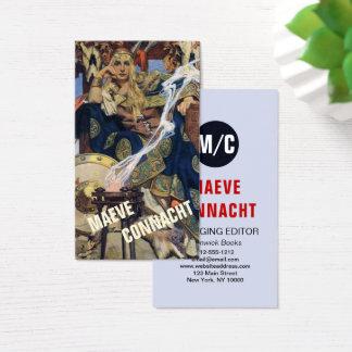 Tarjeta De Visita Negocio de encargo de la plantilla de la impresión