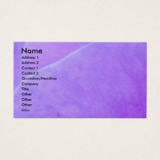 Tarjeta De Visita NOVINO - Hoja púrpura de la flor