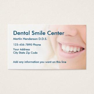 Tarjeta De Visita Oficina del dentista