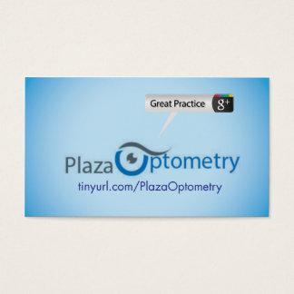 Tarjeta De Visita Optometría de la plaza