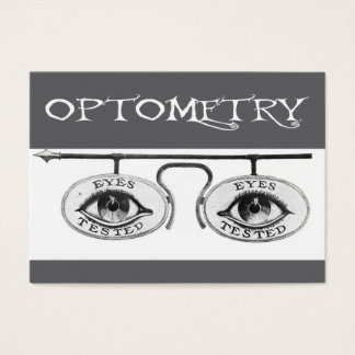 Tarjeta De Visita Optometría nostálgica