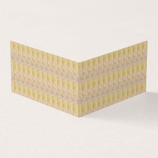 Tarjeta De Visita Orientación: El libro horizontal doblado no está
