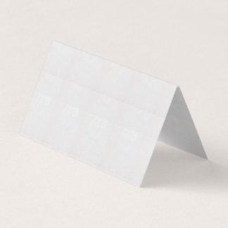 Tarjeta De Visita Orientación: La tienda horizontal doblada no está