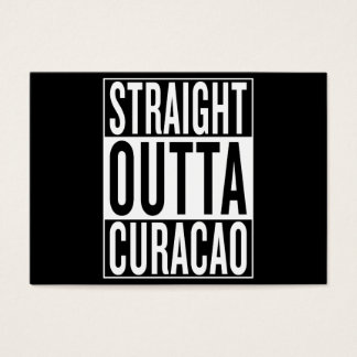 Tarjeta De Visita outta recto Curaçao