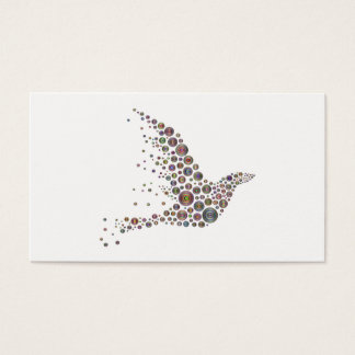 Tarjeta De Visita Pájaro
