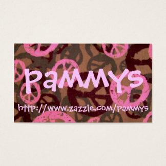 Tarjeta De Visita pammys, http://www.zazzle.com/pammys
