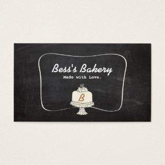 Tarjeta De Visita Panadería linda del panadero del decorador de la