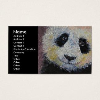 Tarjeta De Visita Panda
