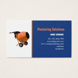 tarjeta de visita para enyesar soluciones