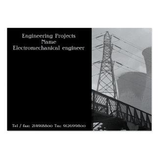 Tarjeta de visita para los ingenieros