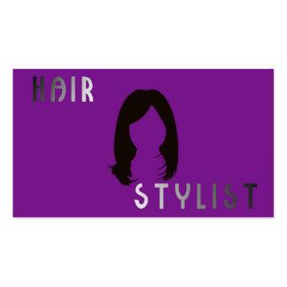 Tarjeta de visita para peluquerìas