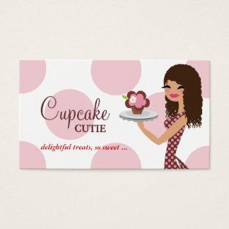 Tarjeta De Visita Pelo rizado rosado de Cutie de la magdalena de 311
