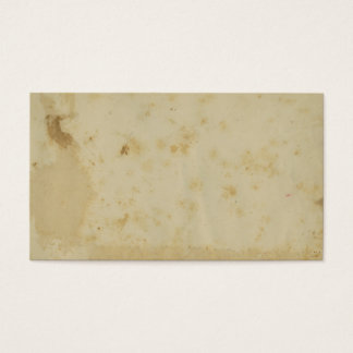 Tarjeta De Visita Pergamino manchado antigüedad en blanco de los