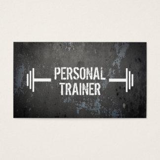 Tarjeta de visita personal del instructor del