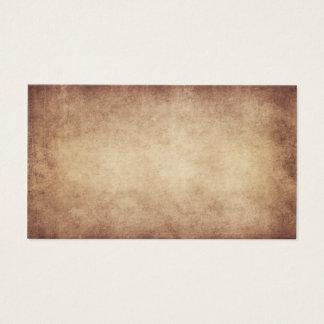 Tarjeta De Visita Personalizado del fondo del papel de la antigüedad