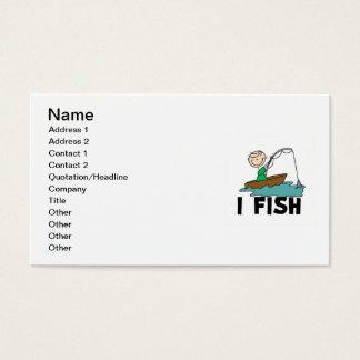 Tarjeta De Visita Pescados del muchacho I