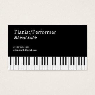 Tarjeta De Visita Pianista