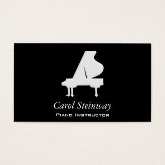 Tarjeta De Visita Piano