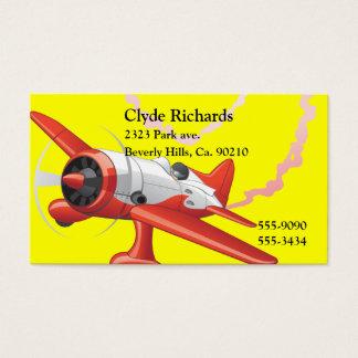 Tarjeta De Visita Piloto de truco en color del personalizado del