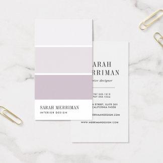 Tarjeta De Visita Pinte al interiorista Editable del color del