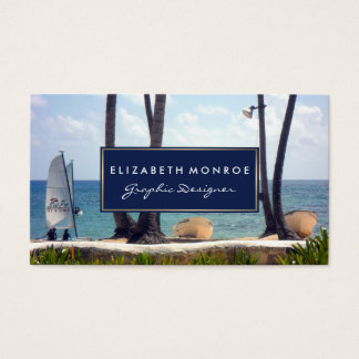 Tarjeta De Visita Playa del Caribe