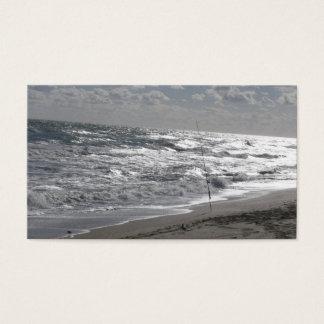 Tarjeta De Visita Playas y sueños de la pesca