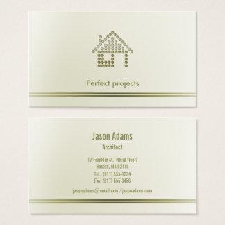 Tarjeta De Visita Profesional del arquitecto el |