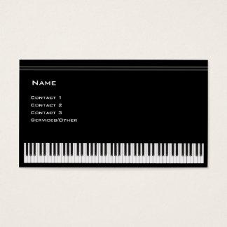 Tarjeta De Visita Profesor de piano