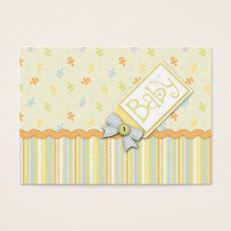 Tarjeta De Visita Recordatorio precioso Notecard del bebé