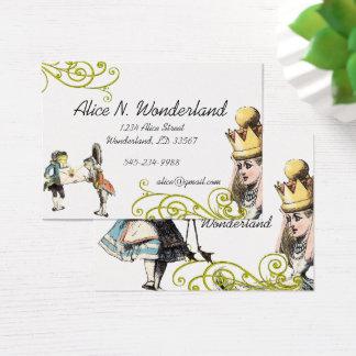 Tarjeta De Visita Reilaboration de la rana del chica del ejemplo del