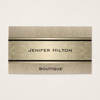 Tarjeta De Visita Reluciente de lujo moderno elegante profesional