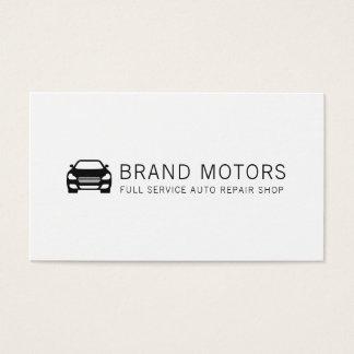 Tarjeta De Visita Reparación auto automotriz profesional