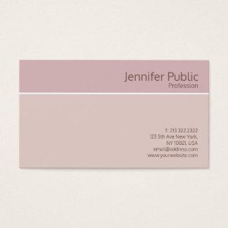 Tarjeta De Visita Salón de belleza de seda elegante profesional
