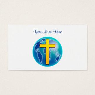 Tarjeta De Visita Salvador del mundo, su nombre aquí