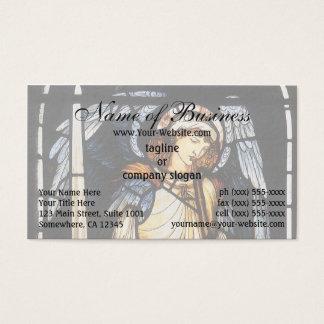 Tarjeta De Visita San Miguel (vitral) por Burne Jones