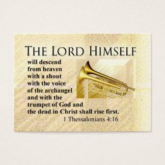Tarjeta De Visita Señor Himself y se acerca rechoncho
