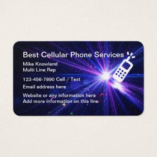 Tarjeta De Visita Servicio de teléfono móvil