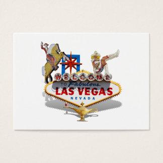 Tarjeta De Visita Signo positivo de Las Vegas