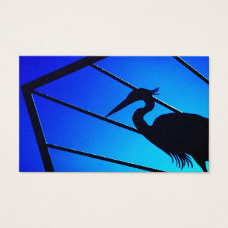 Tarjeta De Visita Silueta de un pájaro