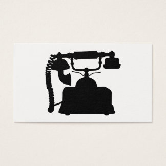 Tarjeta De Visita Silueta del teléfono