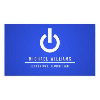 TARJETA DE VISITA TÉCNICO ELECTRICISTA ELÉCTRICO