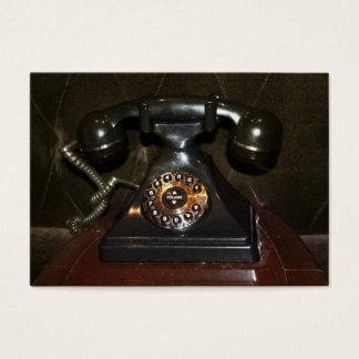 Tarjeta De Visita Teléfono viejo de la terminal de marcado manual