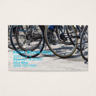 Tarjeta De Visita Tienda de la bicicleta de Alicia